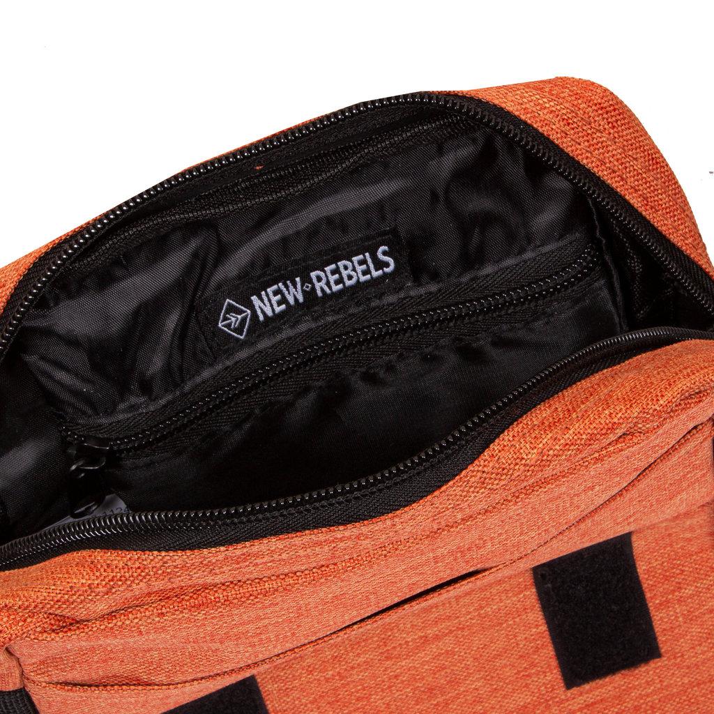 New Rebels® - Heaven - Schoudertas - Crossbody - Polyester - Oranje