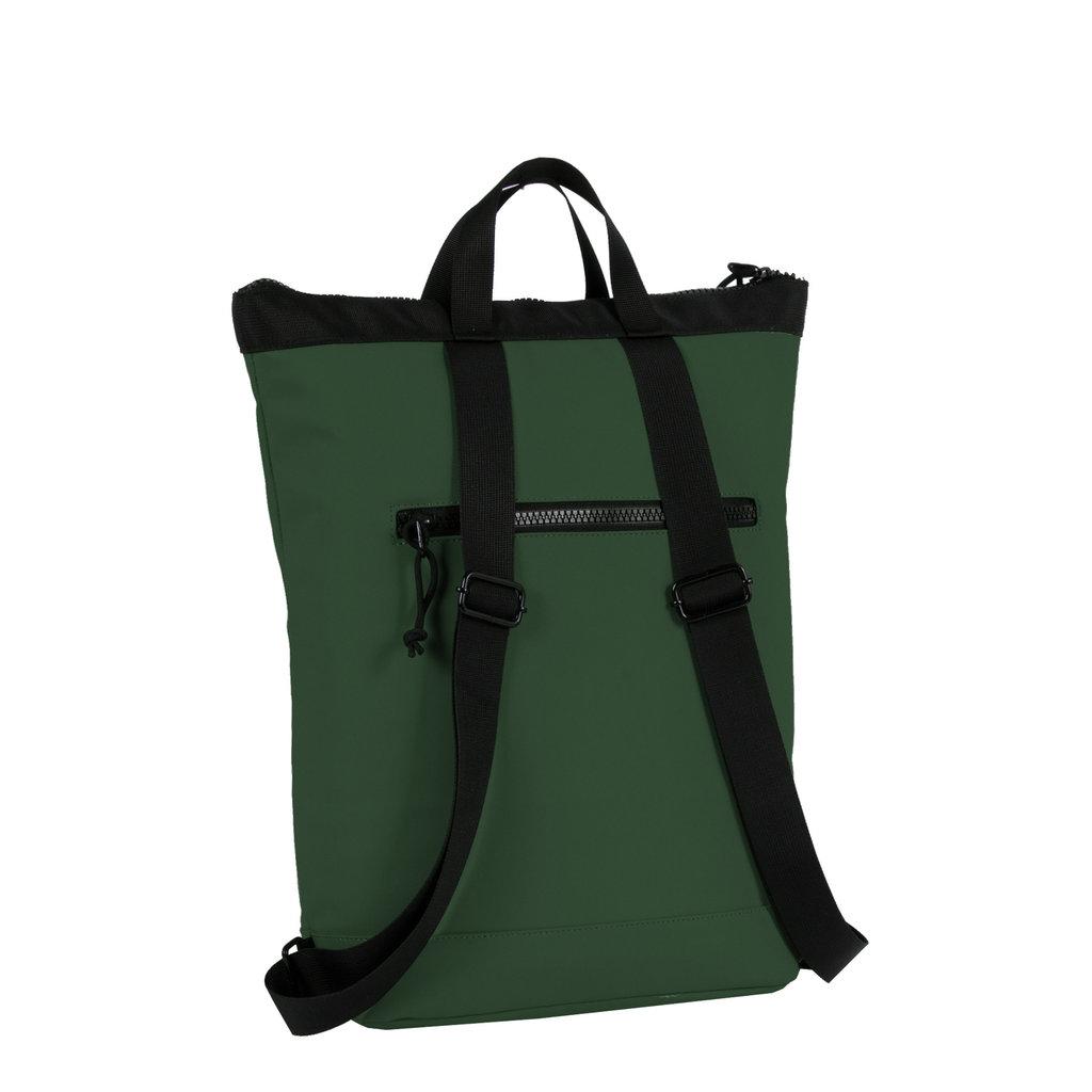 Mart dark green shopper backpack