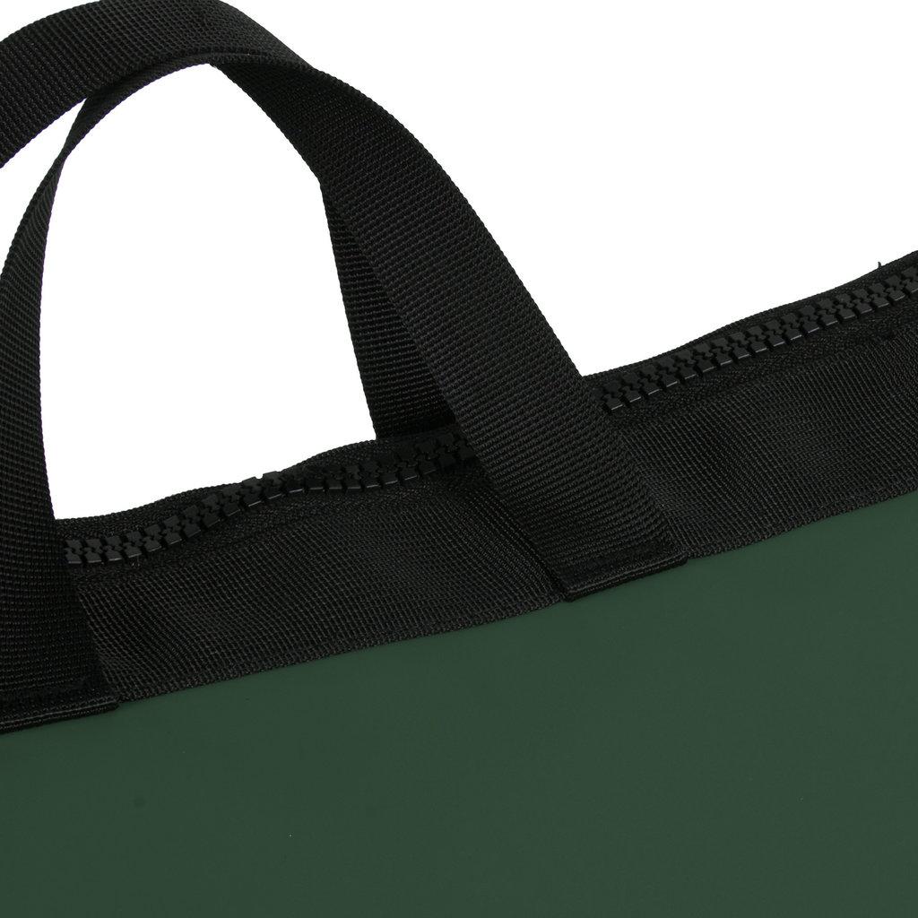 New-Rebels ® Mart Shopper - Laptoptas vak - Rugtas Donker Groen
