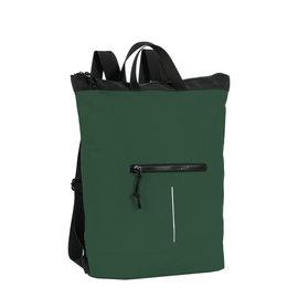 New Rebels® Mart - Waterafstotend -  Rugtas - Laptoptas 13,3 Inch. - Shopper -  Donker Groen