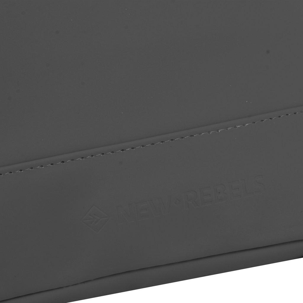 New Rebels® Mart - Waterafstotend -  Rugtas - Laptoptas 13,3 Inch. - Shopper -  Grijs