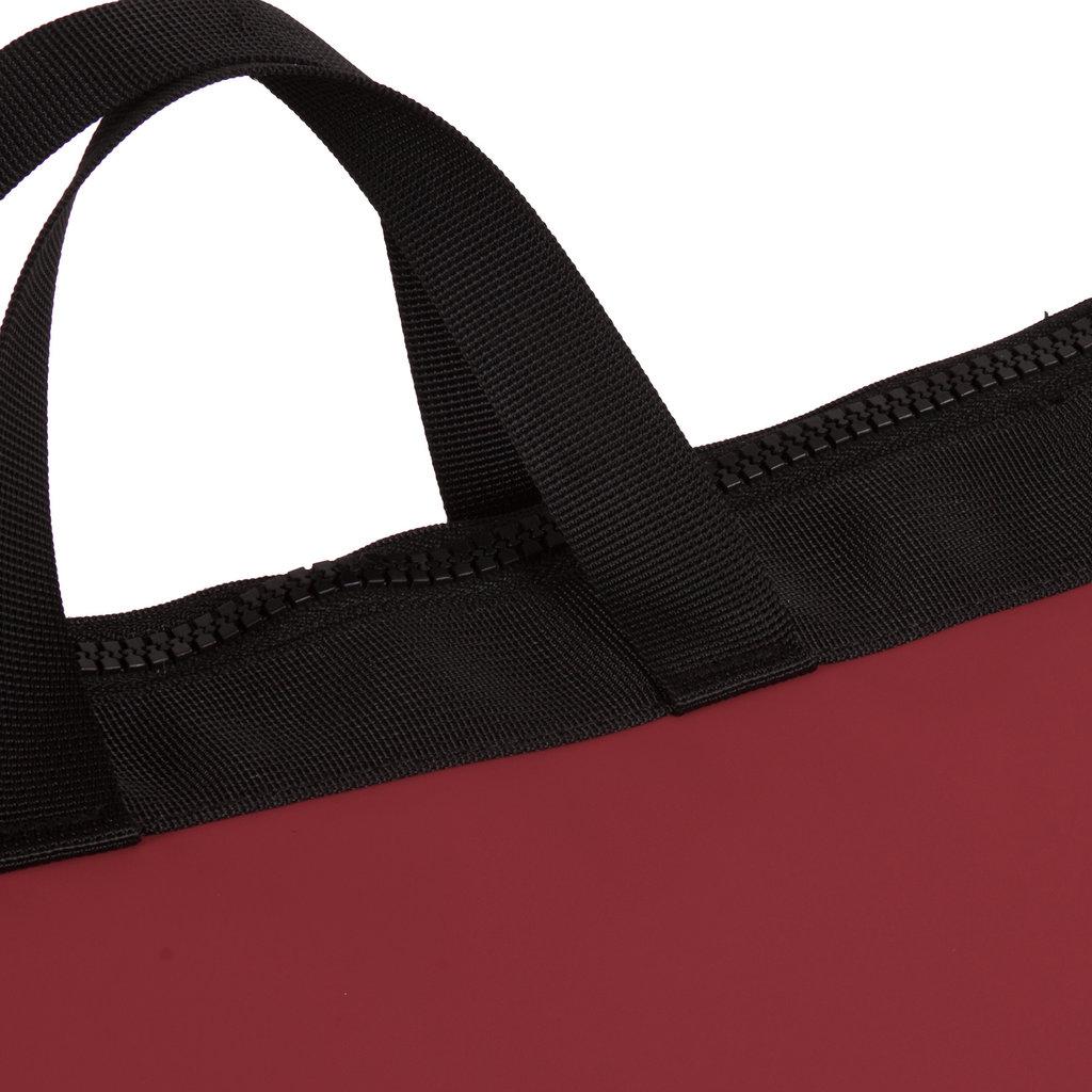 Mart burgundy shopper backpack