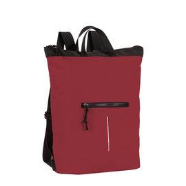 New Rebels® Mart - Waterafstotend -  Rugtas - Laptoptas 13,3 Inch. - Shopper -  Burgundy