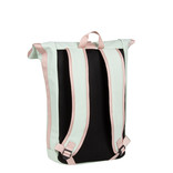 Tim Roll-Top Backpack Mint/Soft Pink