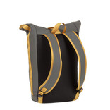 Tim Roll-Top Backpack Anthracite/Yellow