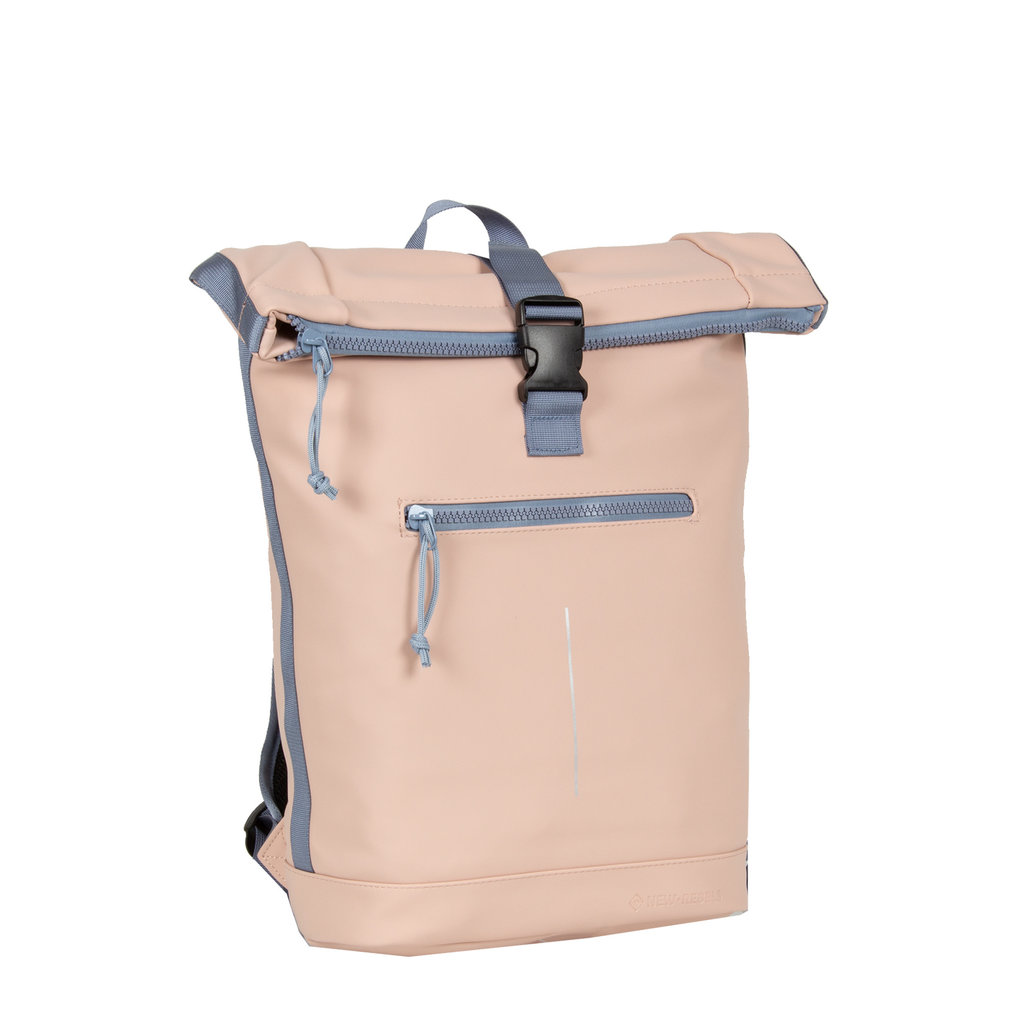 Tim Roll-Top Backpack Soft Pink/Lila