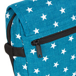 New Rebels Star range  small flap new blue with stars