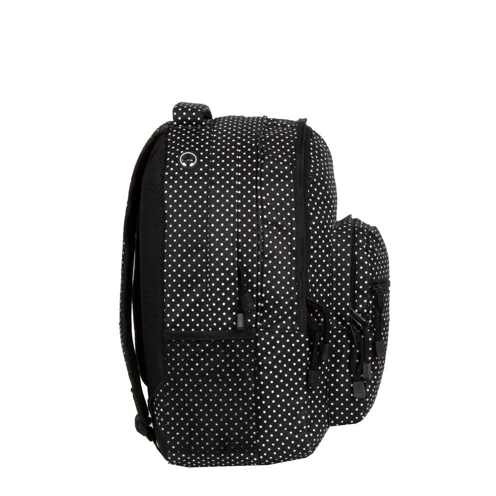 Katschberg school backpack black/white