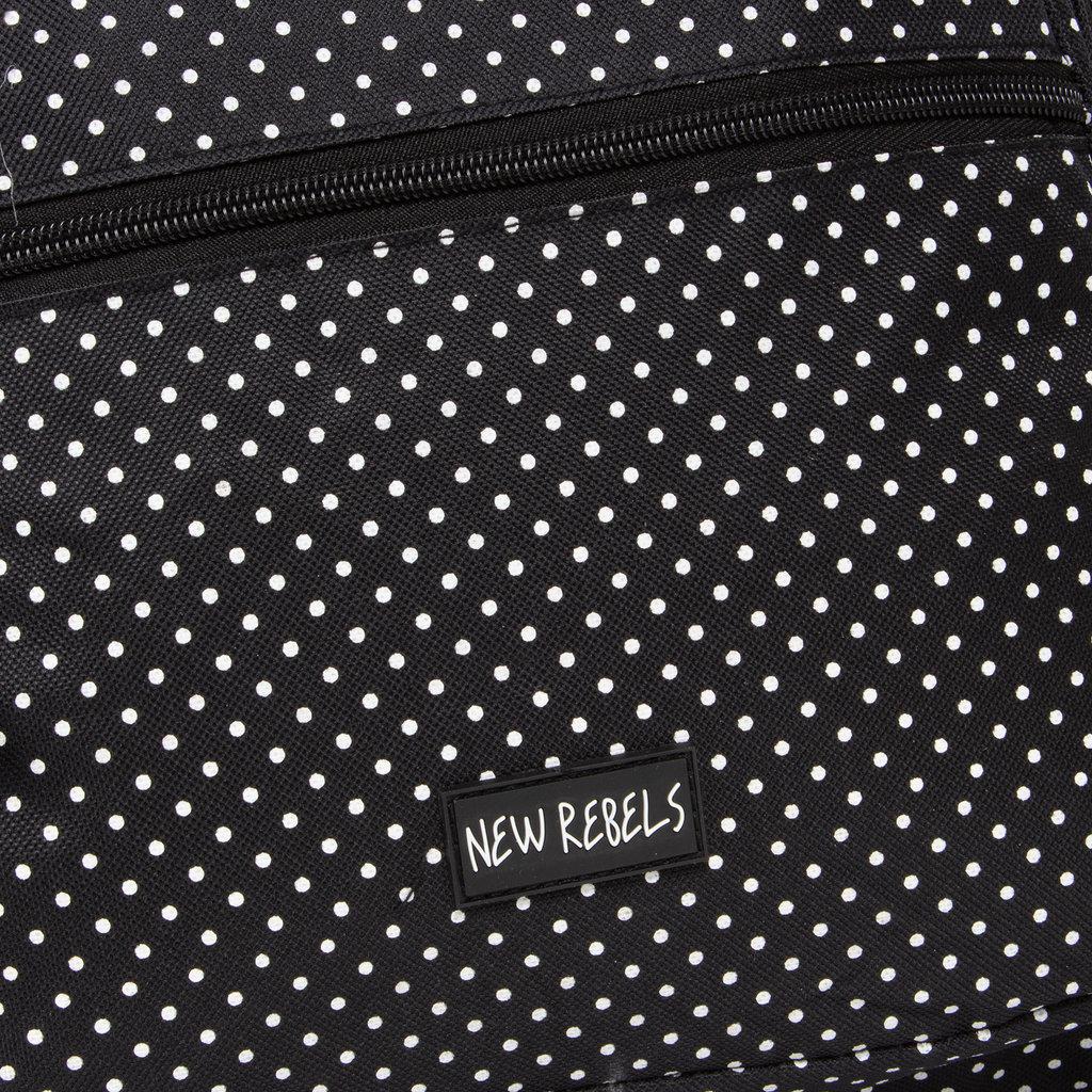 New Rebels®  Katschberg - Backpack - Laptop Compartment - 31x15x41cm - Black