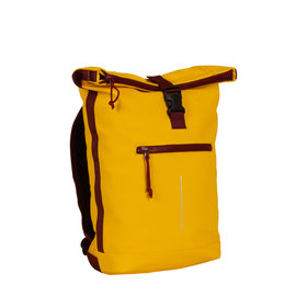 New Rebels® Tim Roll-Top Backpack Yellow/Burgundy