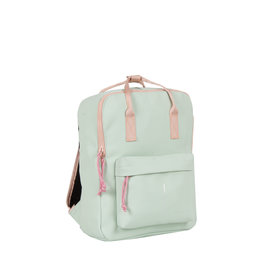 Tim mint blue/ soft pink handel backpack