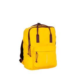 Tim yellow/ bordeaux handel backpack 18L
