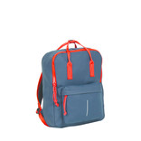 Tim  navy/red handel backpack 18L 28x16x39cm