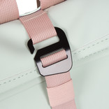 New-Rebels®  Tim Roll-Top  Backpack Small Pink/Mint