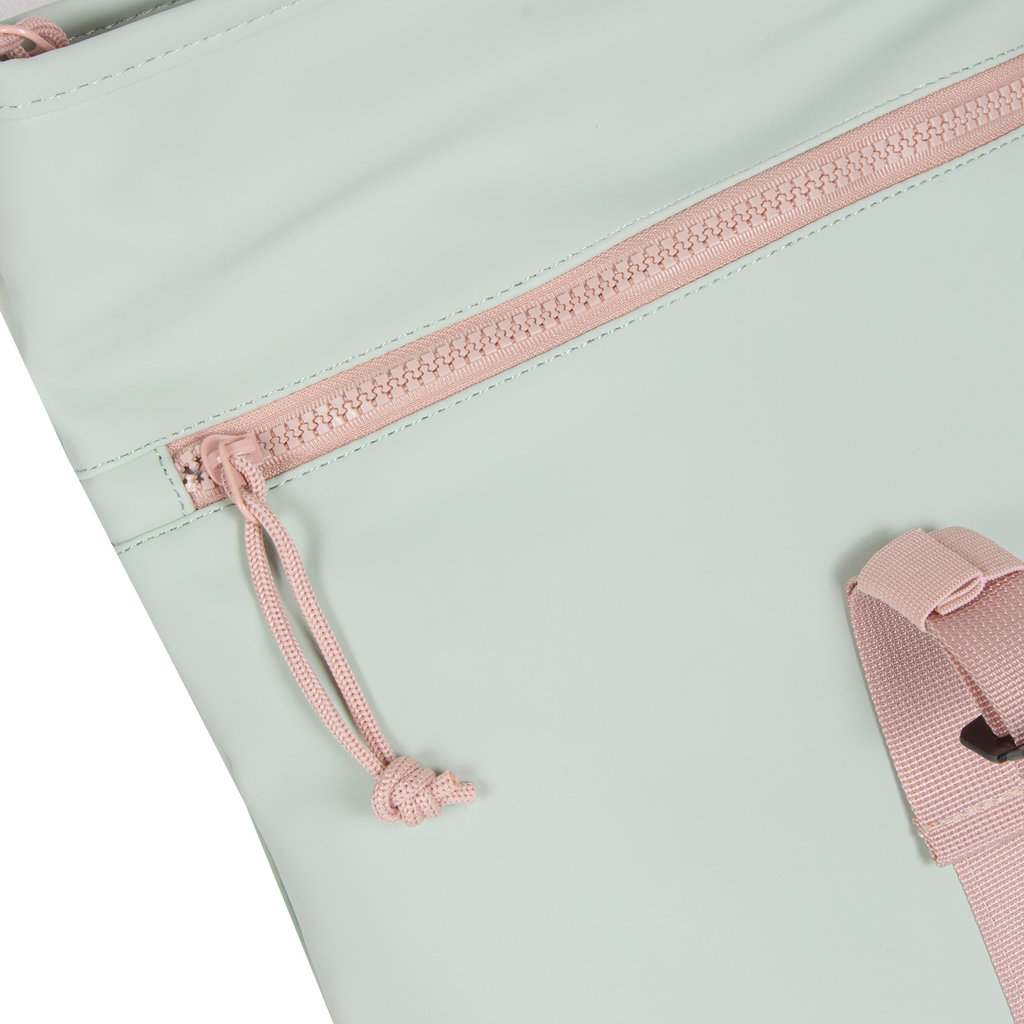 Tim Roll-Top  Backpack Small Pink/Mint