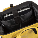 New-Rebels®  Waxed olive shopper backpack | Rugtas | Rugzak