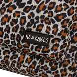 Backpack basic big leopard