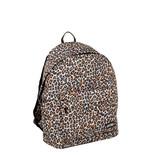New Rebels ®  Leopard - Backpack - Basic - Leopard Print - 32x13x42cm - Brown