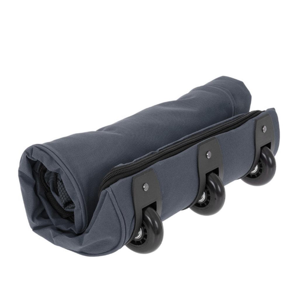 New- Rebels®  Roll-able Trolley Weekendtas - Reistas -Sporttas -  80 Cm  -Blauw