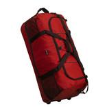 New- Rebels®  Roll-able Trolley Weekendtas - Reistas -Sporttas -  80 Cm  - Rood