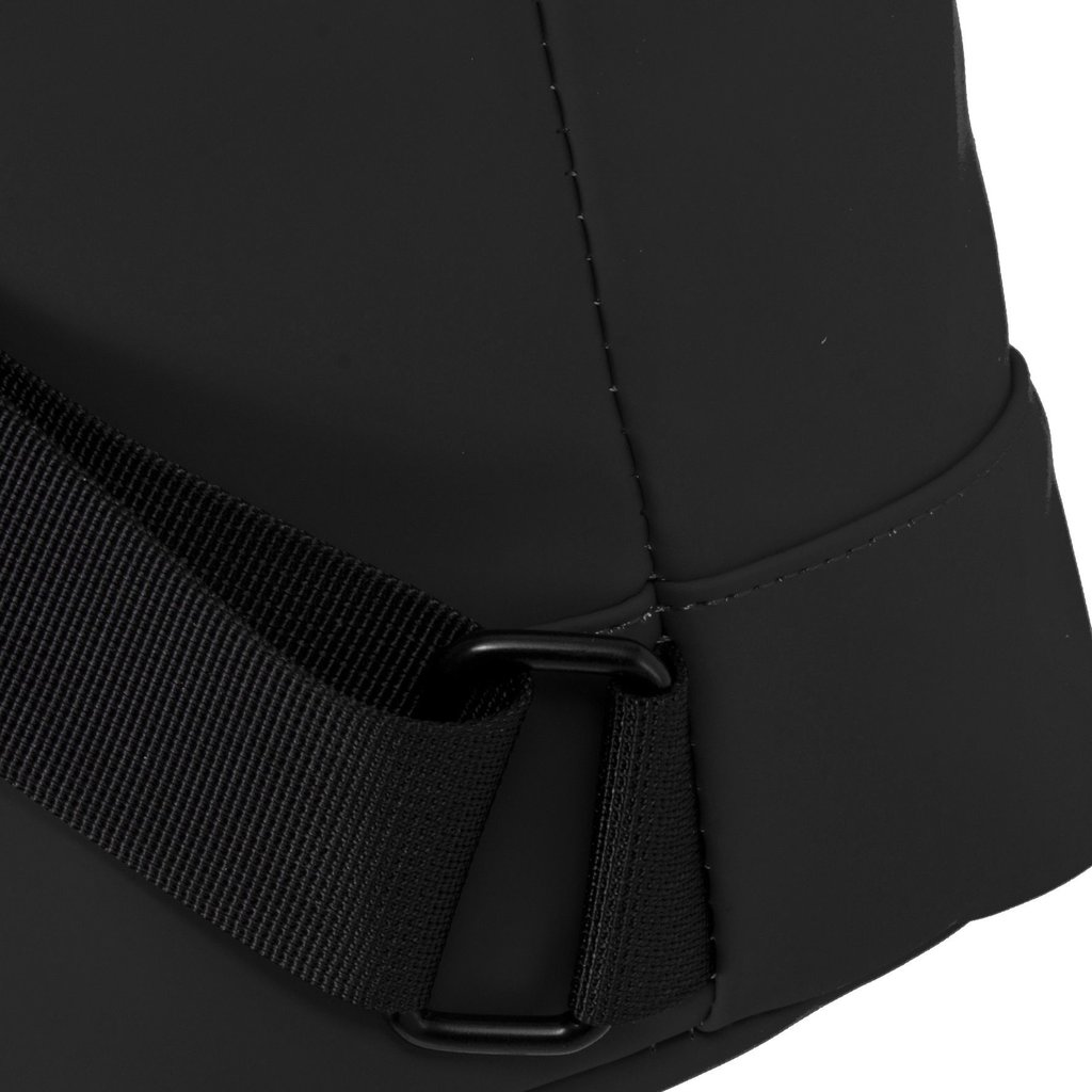 New Rebels® Mart - Waterafstotend -  Rugtas - Laptoptas 13,3 Inch. - Shopper - Zwart