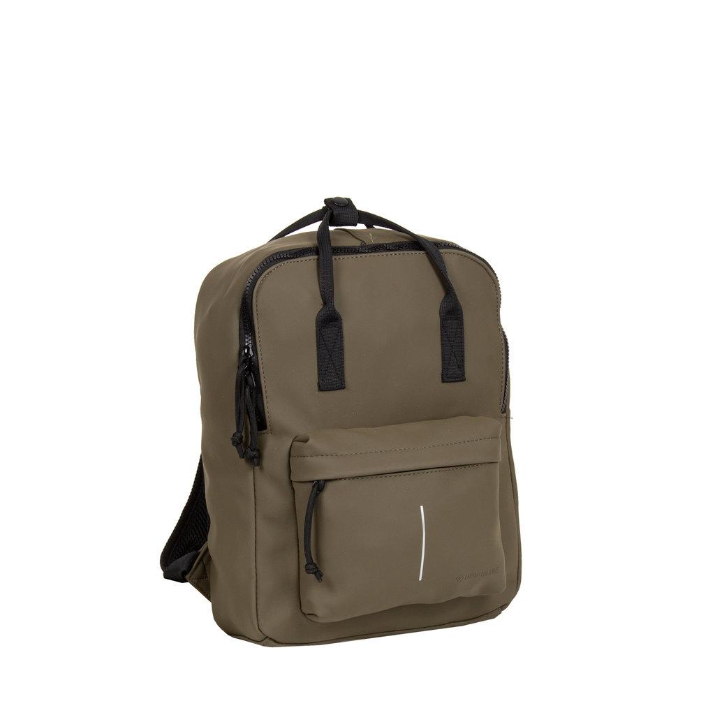 Mart Backpack Olijf IV | Rugtas | Rugzak
