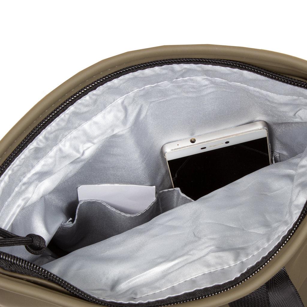 Mart Roll-Top Backpack Olijf Small II