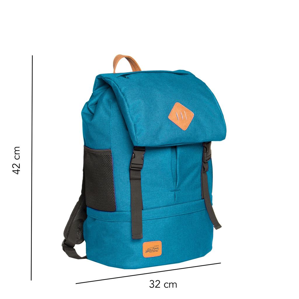 Heaven Big Flap Backpack New Blue XX | Rucksack