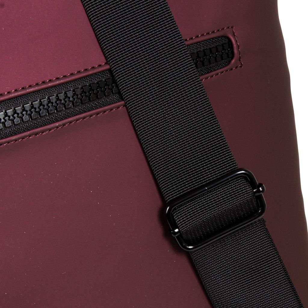 Mart  Backpack Laptop Metallic Burgundy - Rugtas
