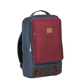 Wodz Big Backpack Navy /Red  II | Rugtas | Rugzak