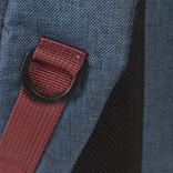 New-Rebels ® Wodz - Big Backpack - Navy/Red  II - 27x20x47cm - Backpack
