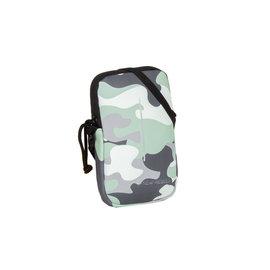 New-Rebels ® Mart - Waterafstotend - Telefoontas  - Donker Groen -  Mint camouflage  -Army