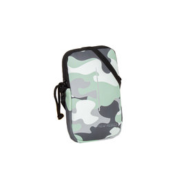New-Rebels ® Mart - Waterafstotend - Telefoontas  - Telefoontasje - Army Camouflage Mint