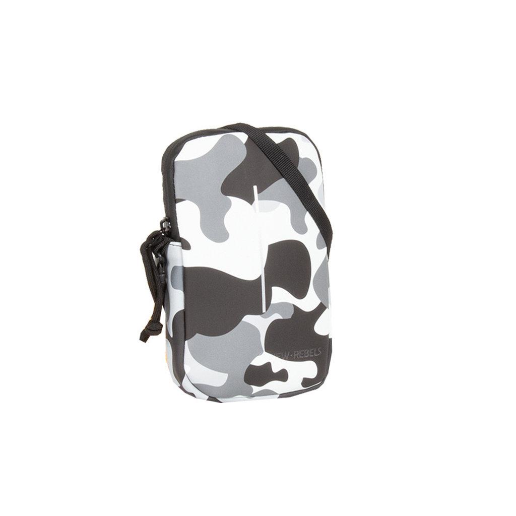 New-Rebels ® Mart - Waterafstotend - Telefoontas  -   Army camouflage - Army