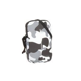 New-Rebels ® Mart - Waterafstotend - Telefoontas  - Telefoontasje - Army Camouflage Grey