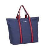 New-Rebels® - Stan - Canvas - Shopper - 37x20x40cm - Navy Blauw