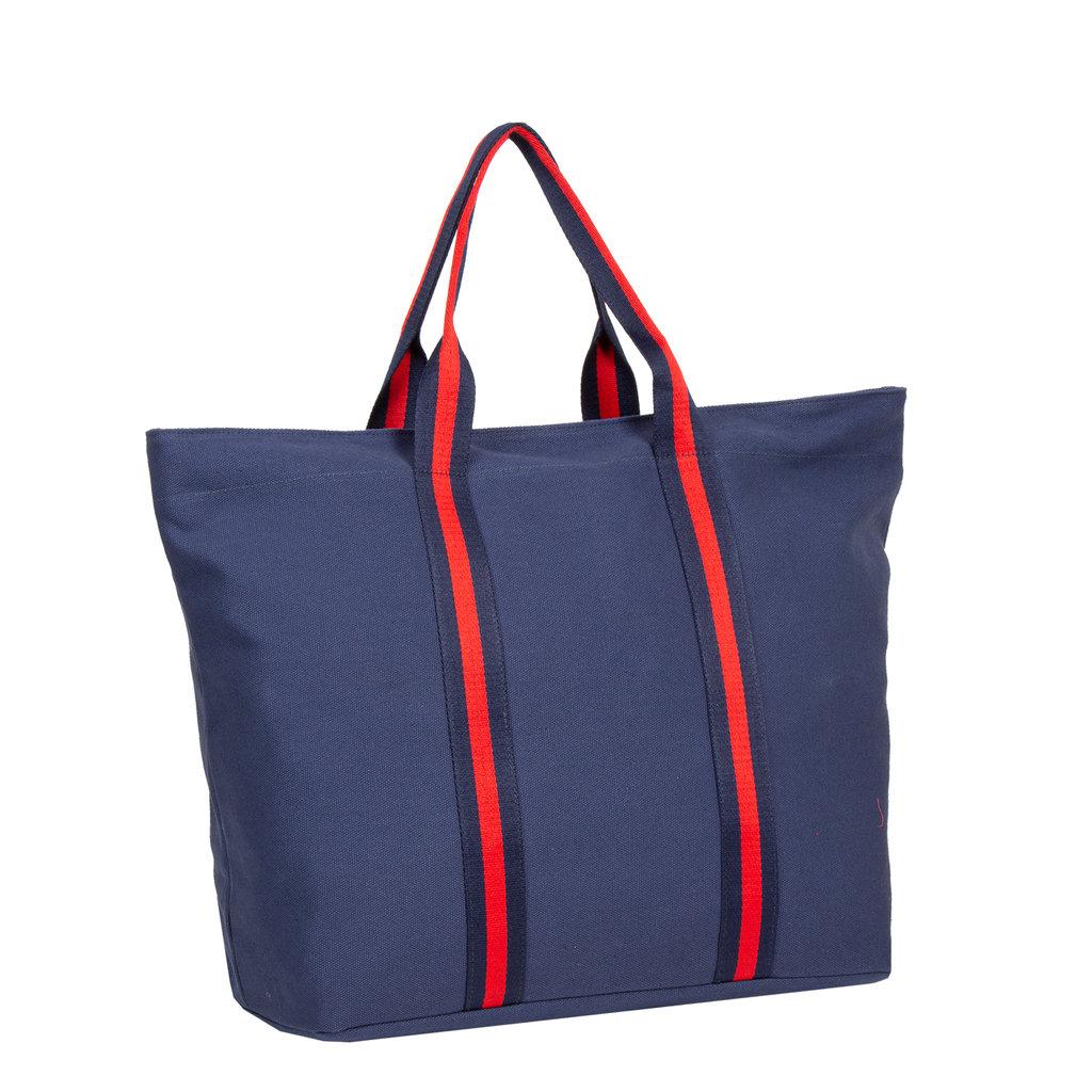 New Rebels - Stan - Canvas - Shopper -   Navy  / Blauw