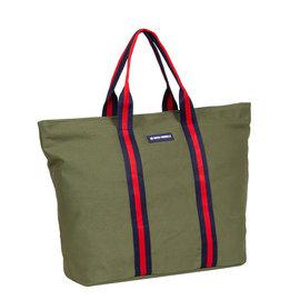 New-Rebels® - Stan - Canvas - Shopper - Olive Green