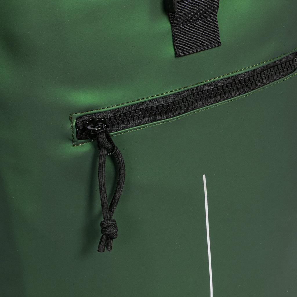 New-Rebels® Mart - Roll-Top - Backpack - Metallic Green - Large II - 30x12x43cm - Backpack