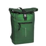 New-Rebels® Mart - Roll-Top - Backpack - Waterafstotend - Metallic Green - Large II - 30x12x43cm - Rugtas - Rugzak