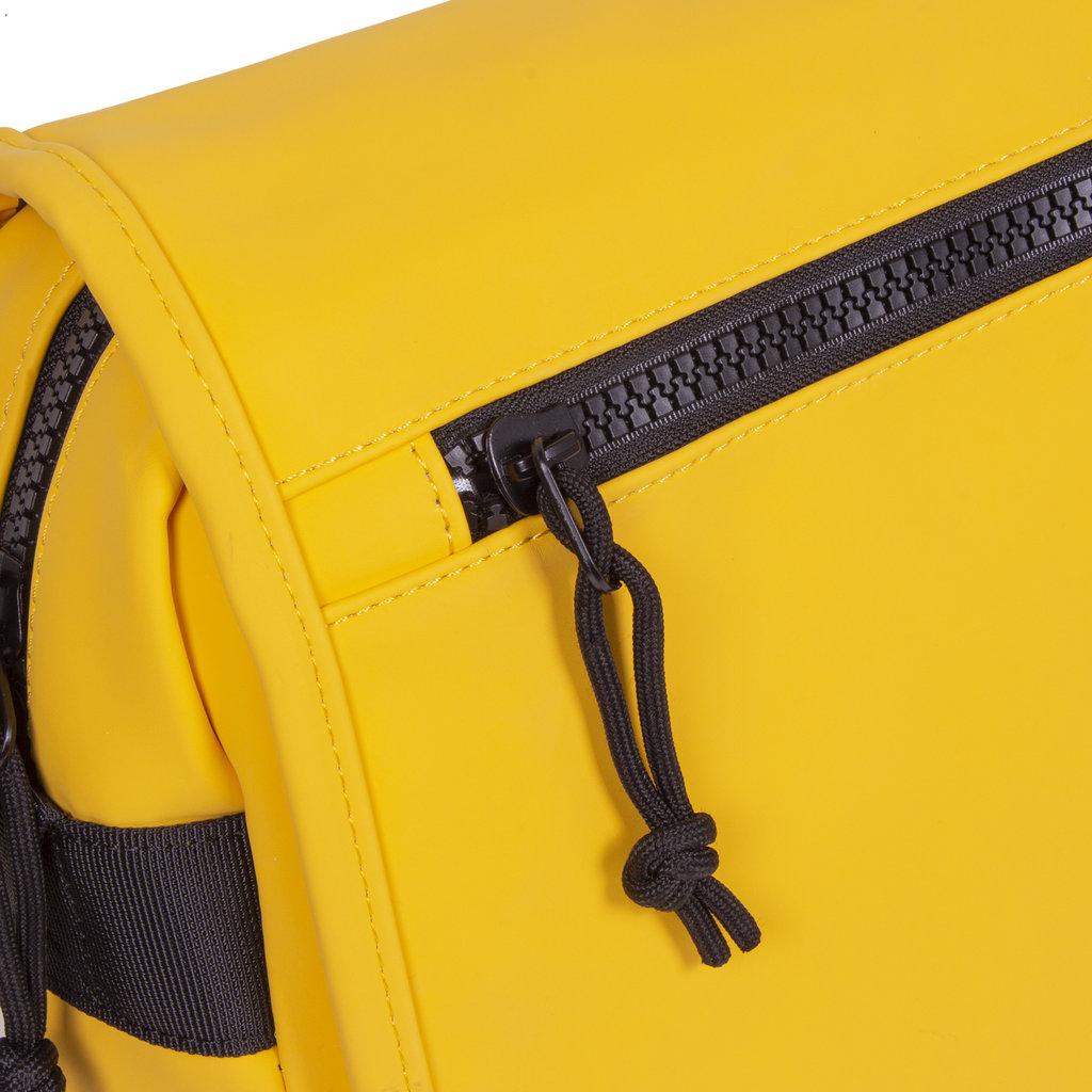 New-Rebels ® Mart - Flapover - Yellow - A5 - 31x9,5x26cm - Schoudertas