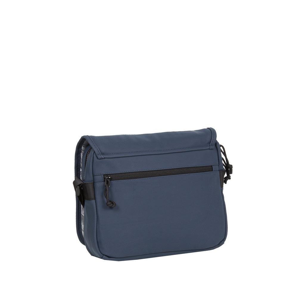 New-Rebels ® Mart - Flap over - Navy Blue - A5 - 31x9,5x26cm - Shoulder bag