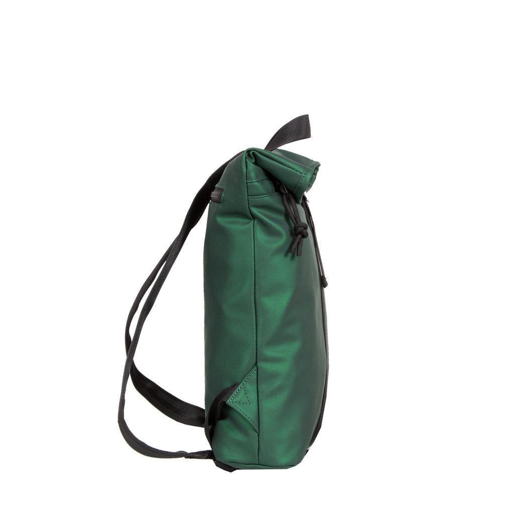 New-Rebels® Mart - Roll-Top - Backpack - Metallic Green - Small II - 27x8x33cm - Backpack