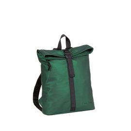 New-Rebels® Mart - Roll-Top - Backpack - Waterafstotend - Metallic Green - Small II - Rugtas - Rugzak