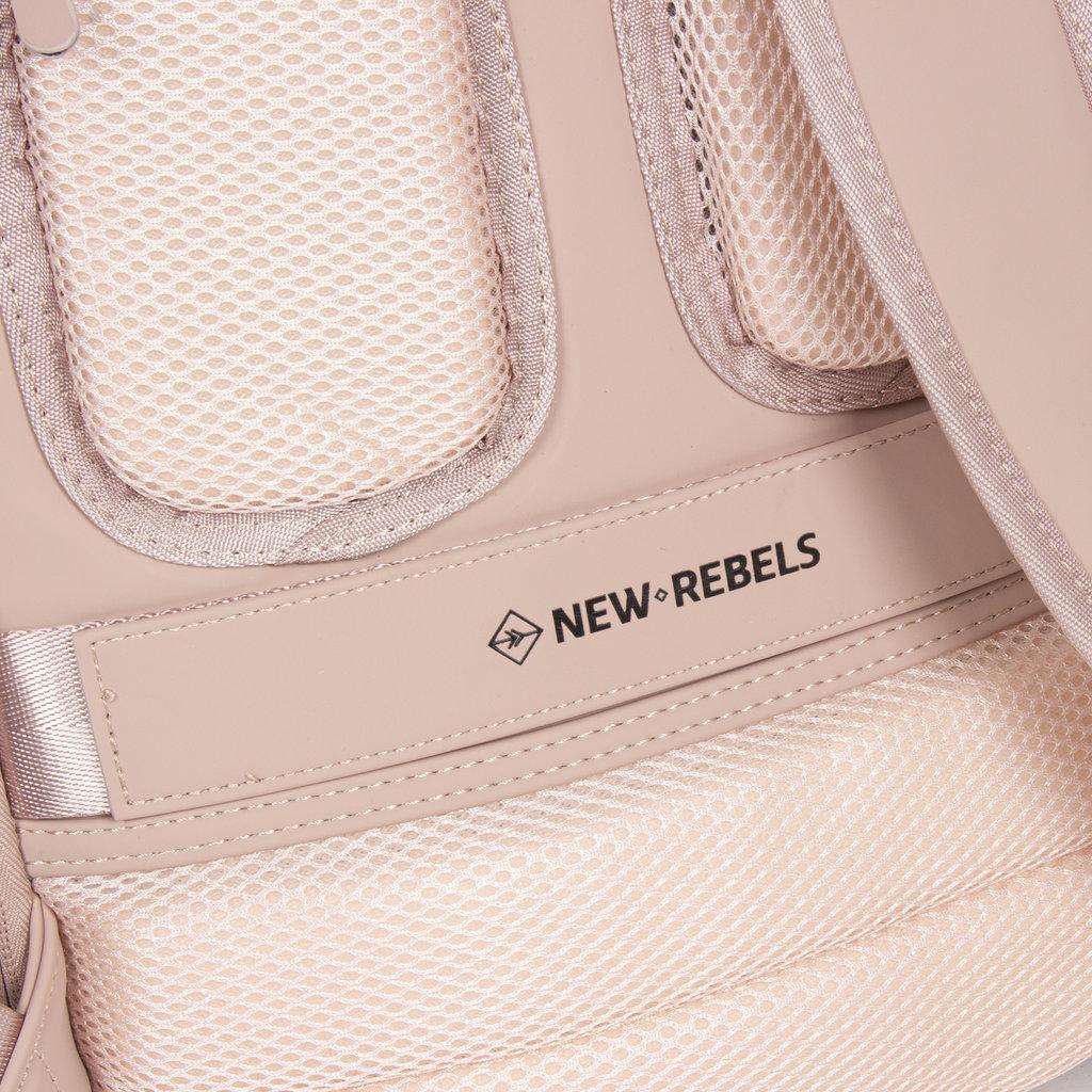 New-Rebels ® Harper - Backpack - Laptop compartiment - 9Liter - 28x8x38 - Pink