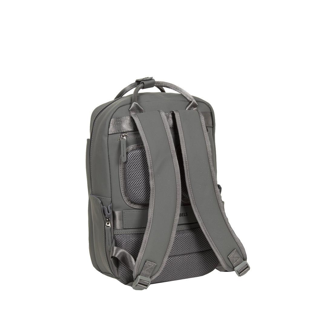 New-Rebels ® Harper - Backpack - Laptoptas - Rugtas - 9 Liter - 28x8x38 - Antraciet Grijs