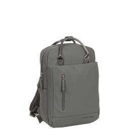 New-Rebels ® Harper - Backpack - Laptop compartiment - 9 Liter - Antracite Grey