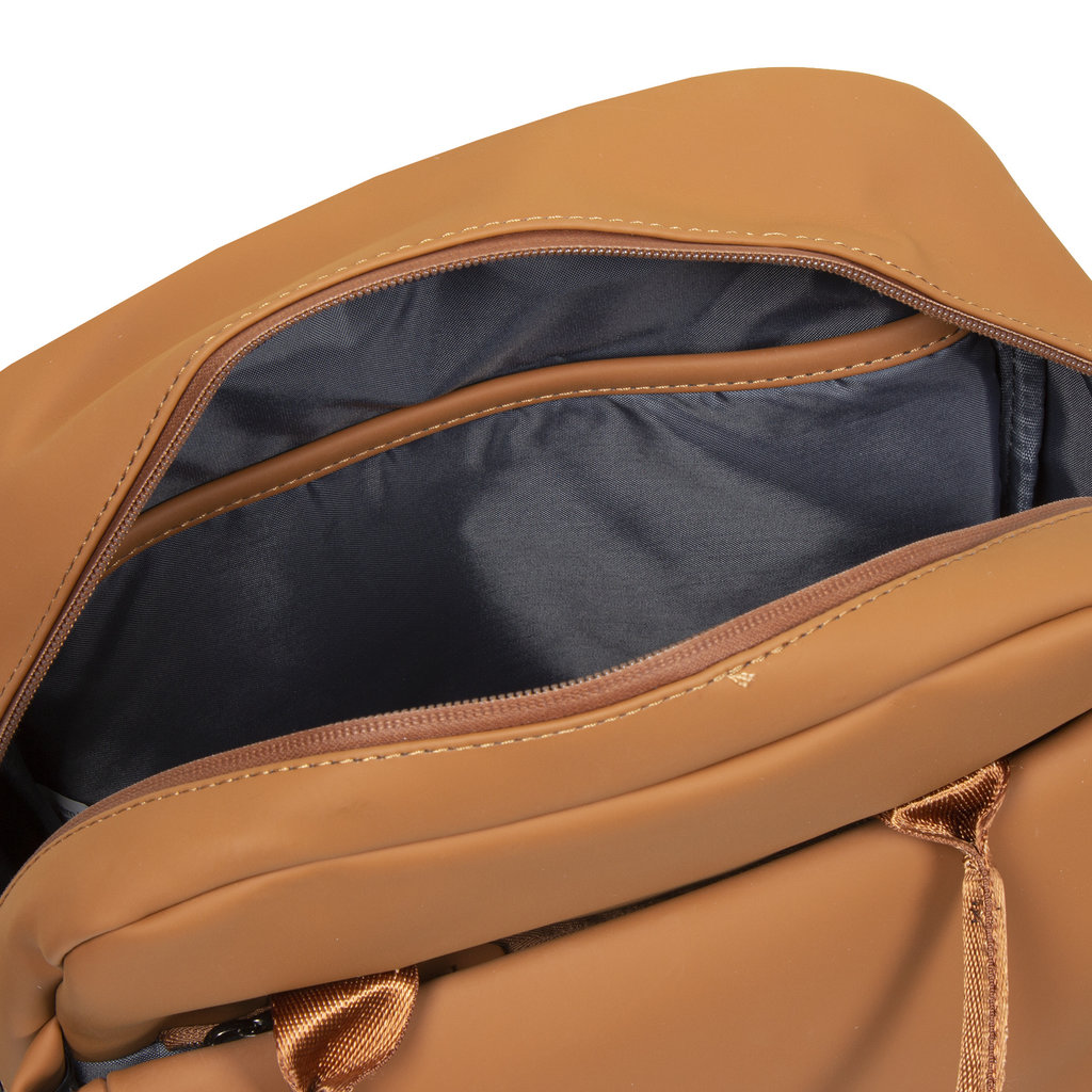 New-Rebels ® Harper - Backpack - Laptoptas - Rugtas - 9 Liter - 28x8x38 - Cognac