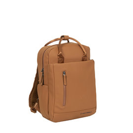 New-Rebels ® Harper - Backpack - Laptop compartiment - 9 Liter - Cognac