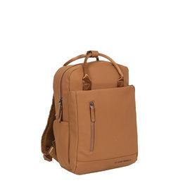 New-Rebels ® Harper - Backpack - Laptoptas - Rugtas - 9 Liter - Cognac
